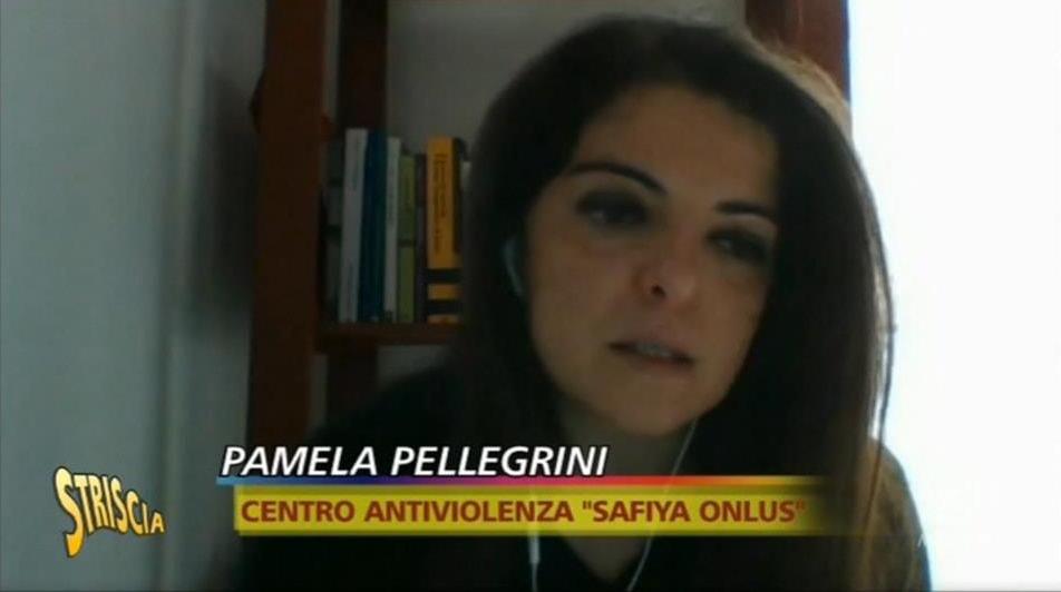 Safiya a Striscia la notizia